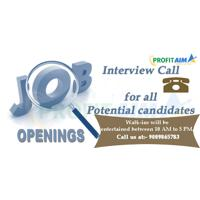 ProfitAim Research Investment Advisory Job Openings